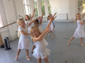 Classical Ballet Swaying